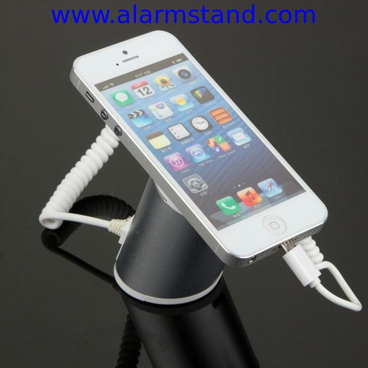 COMER anti-theft locking stands Cell Phone Counter Display Alarming devices